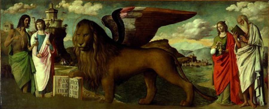 san marco e il leone