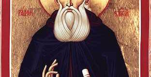 Il Santo del giorno: 25 Settembre – San Sergio di Radonez Eremita