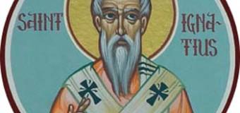 Il Santo del giorno: 17 Ottobre – Sant'Ignazio di Antiochia
