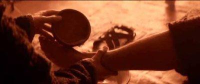 gesu lava i piedi