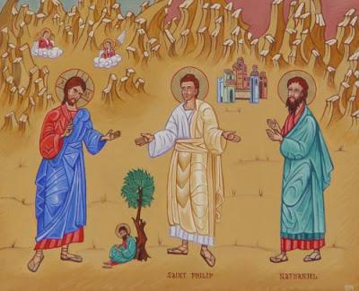 il Cristo Filippo e Natanaele