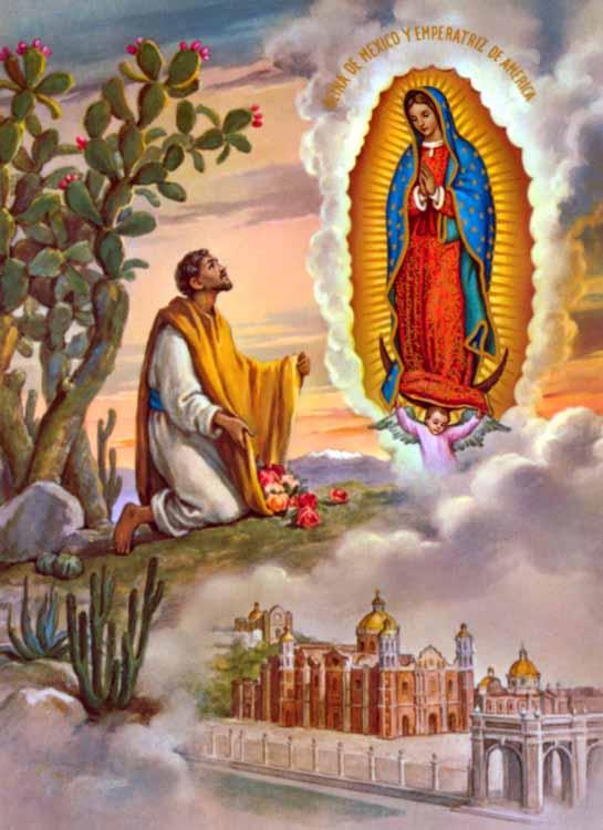 Il Santo del giorno: 12 Dicembre – Beata Maria Vergine di Guadalupe