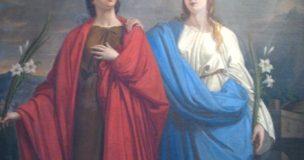 Il Santo del giorno – 10 Luglio – Sante Rufina e Seconda
