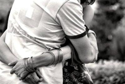 abbraccio verso Dio