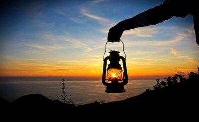 lanterne accese