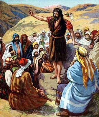 giovanni battista nel deserto