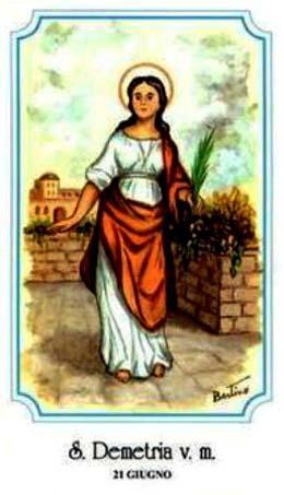 santa Demetria di Roma