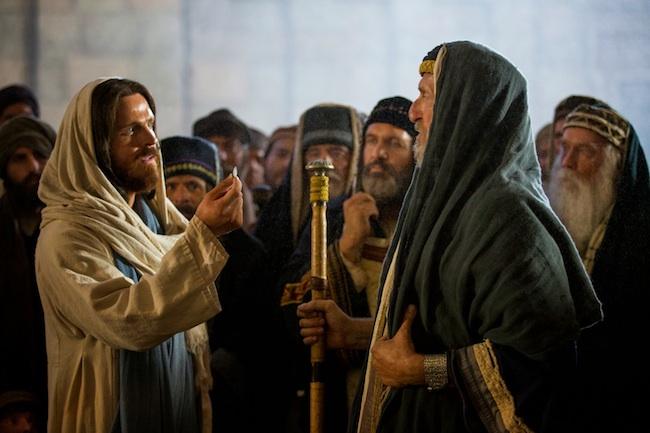 gesu insegna ai farisei