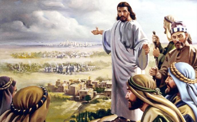gesu manda i discepoli