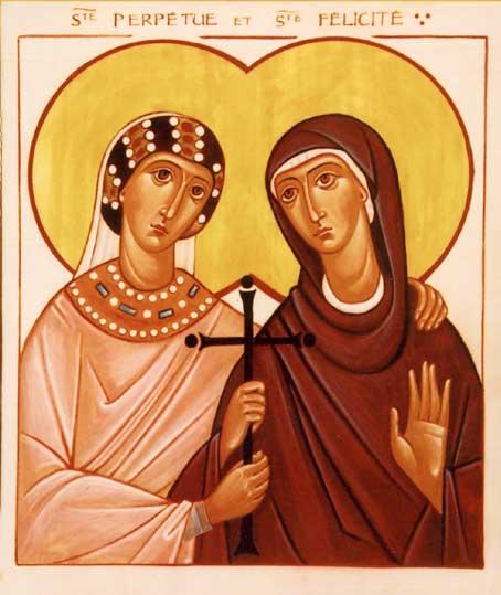Il Santo del Giorno 07 Marzo: Sante Perpetua e Felicita