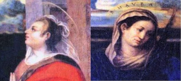 Risultato immagini per Sante Fosca e Maura