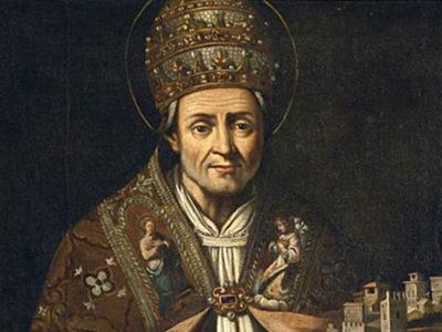 san celestino papa