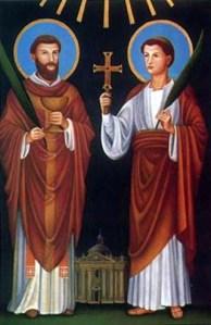 santi marcellino e piero