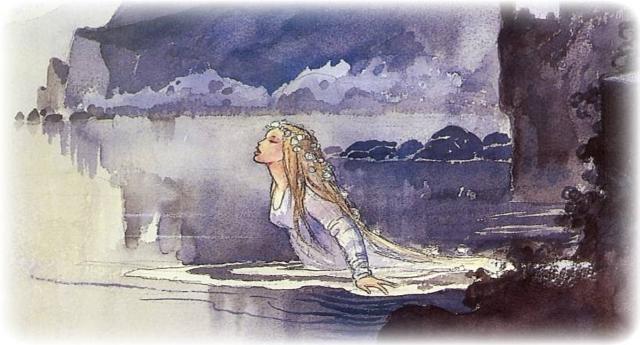 la bambola di sale e il mare