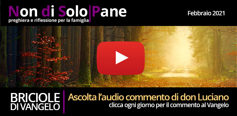 AUDIO COMMENTO DI DON LUCIANO